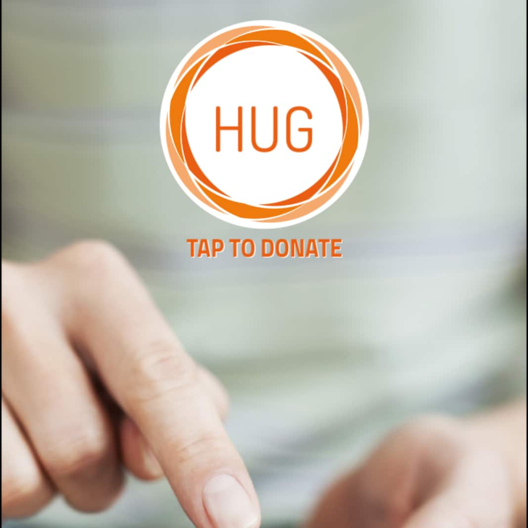 HUG tap to donate (1)