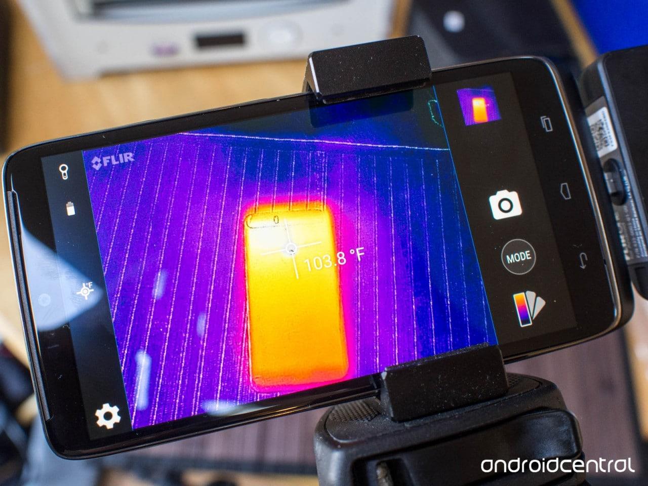 Huawei Nexus 6P - scanner termico