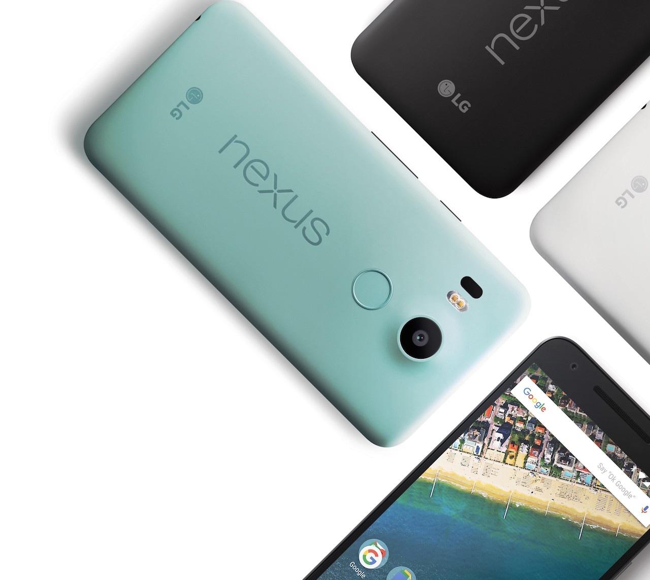 Google pubblica non una ma tre factory image per Nexus 5X