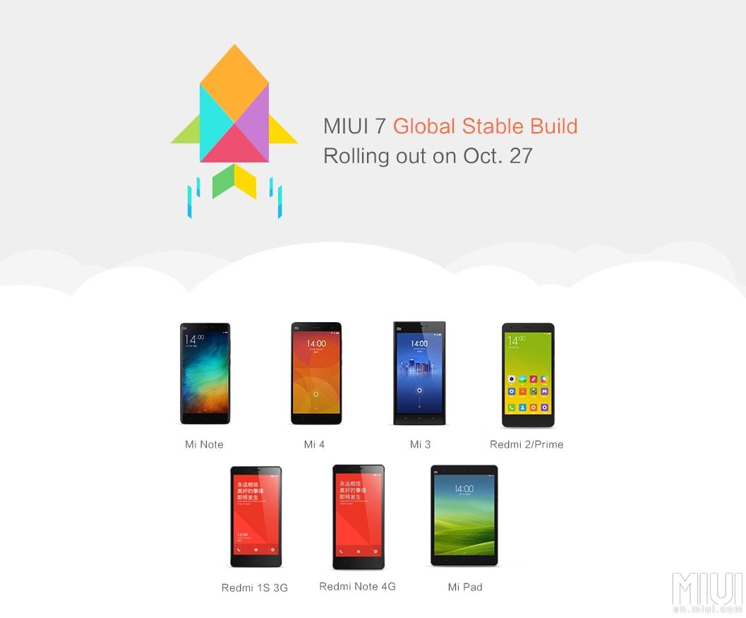 MIUI 7 pronta al download (foto)