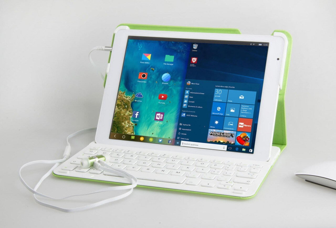 Microtech e-tab 3G, il tablet con Windows 10 e Remix OS ...