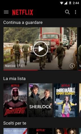 Netflix App Android Italia - 9