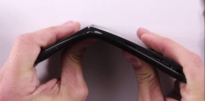 Nexus 6P bend test