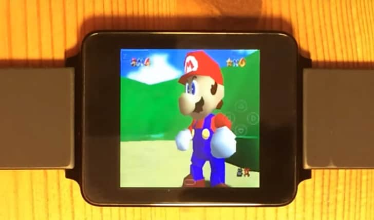 Nintendo 64 PSP Android Wear