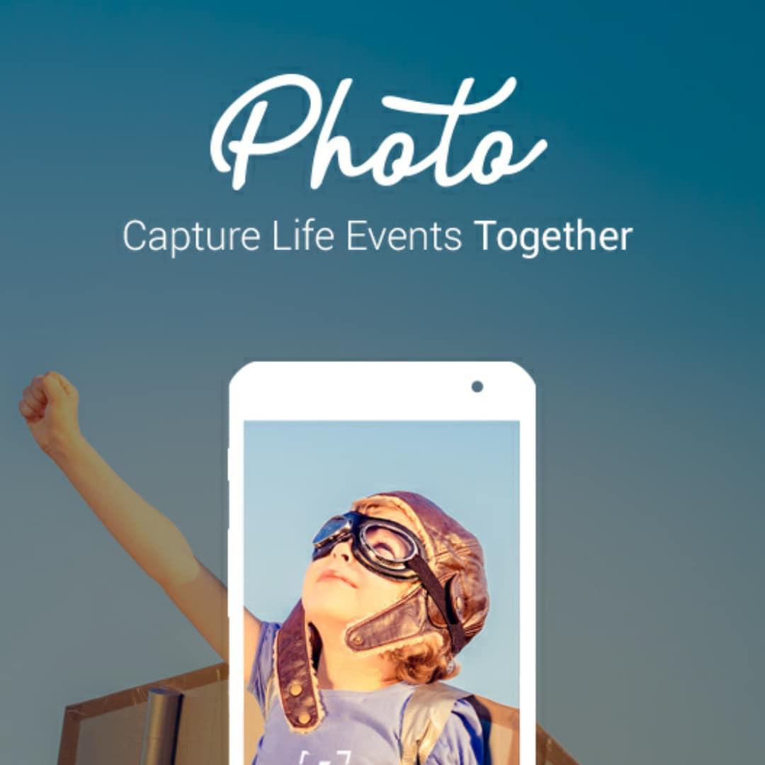 Il modo più comodo per condividere foto di feste ed eventi: Photo (foto)
