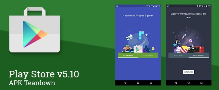 Play Store 5.10 APK teardown