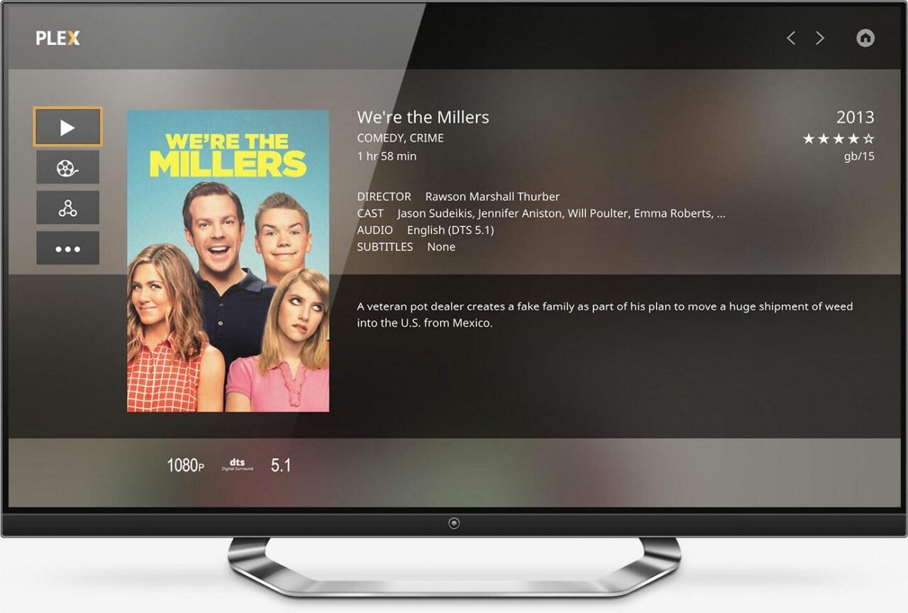 Plex diventa gratuito per Smart TV e Android TV