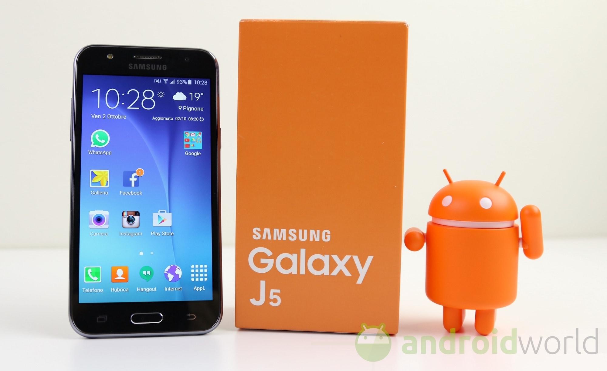 Recensione Samsung Galaxy J5 Dalla Prova Alle Foto Allautonomia Smj500 8gb Androidworld