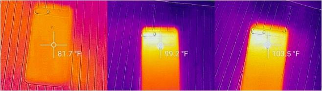 Huawei Nexus 6P - temperatura