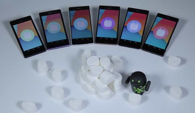 Sony AOSP Marshmallow