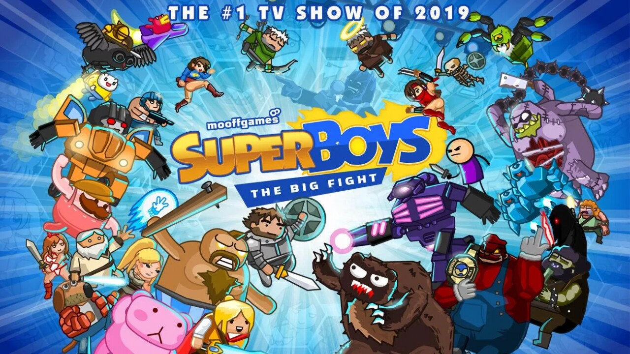 Super Boys - The Big Fight - Copertina