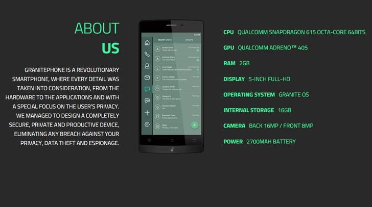 Archos presenta GranitePhone, puntando tutto sulla sicurezza