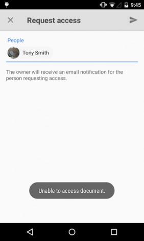 google drive richiesta accesso