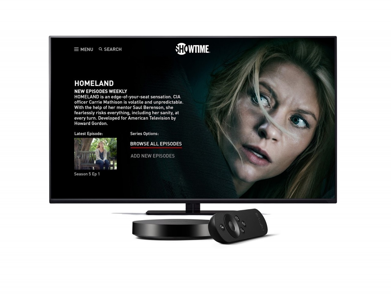 homeland android tv