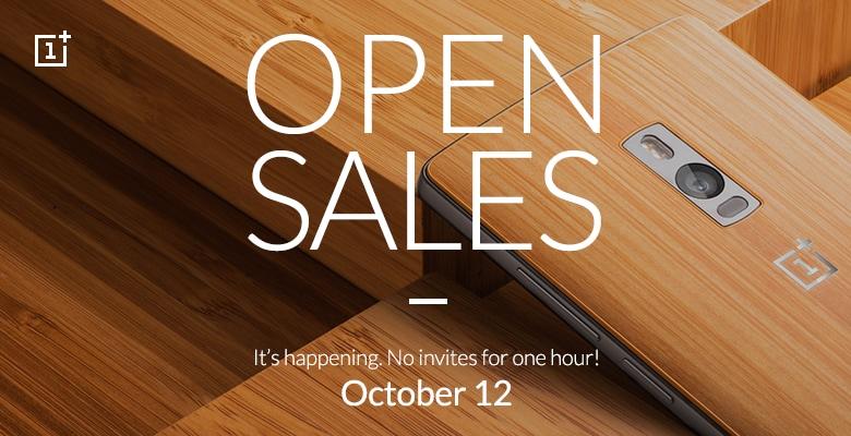 OnePlus 2 sarà in vendita senza invito per un'ora il 12 ottobre