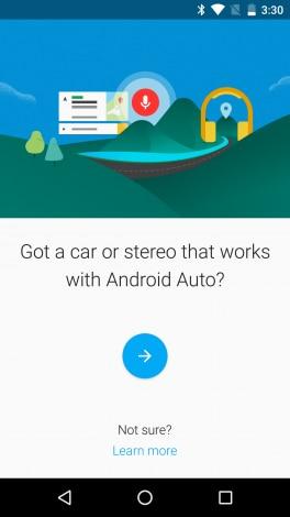 Android Auto companion app - 1