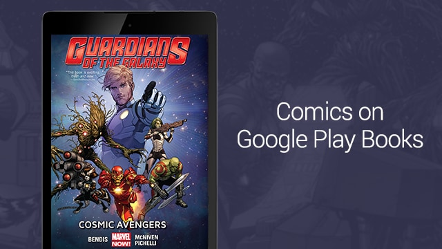 Comics on google play books