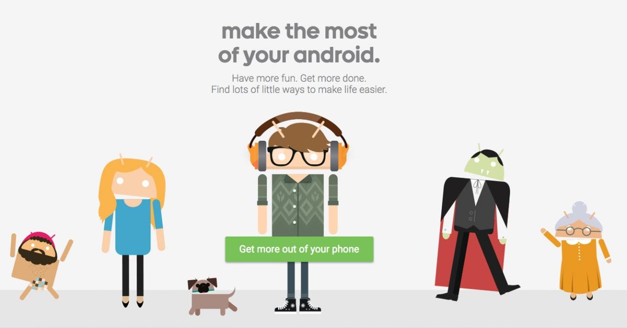 Consigli Google Android