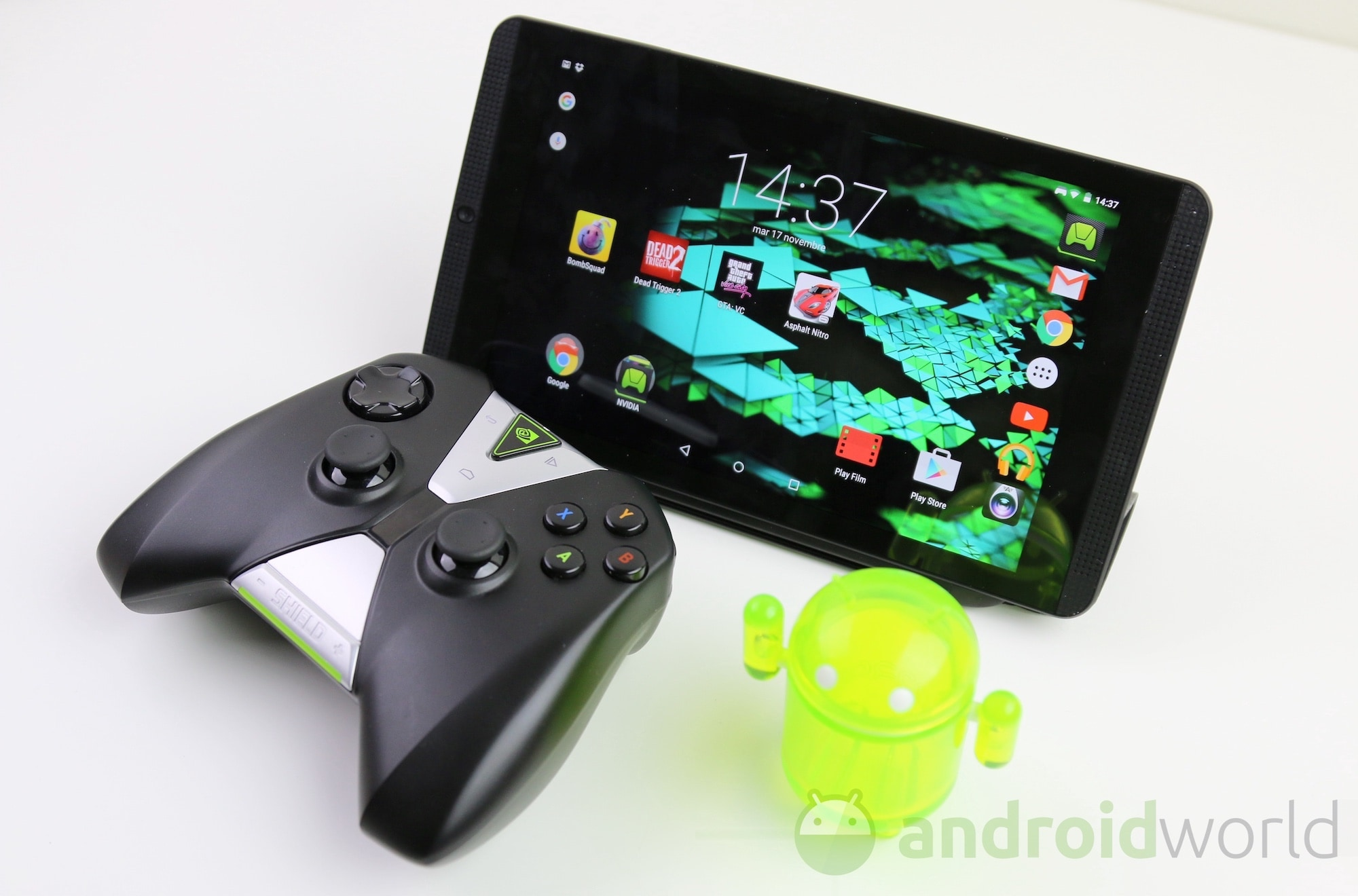 NVIDIA Shield Tablet e Tablet K1 si aggiornano: bug fix e patch di sicurezza