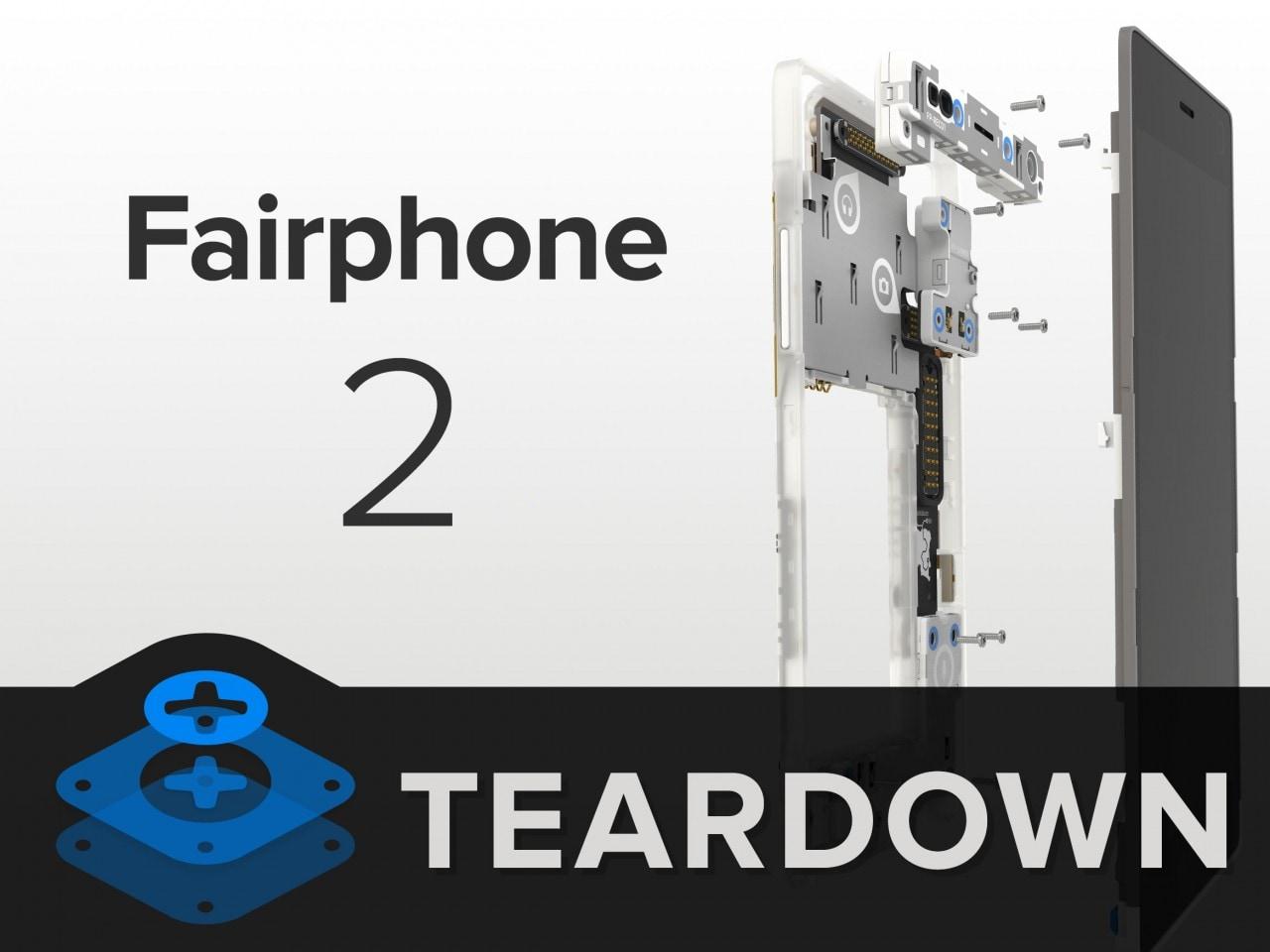 iFixit non risparmia nemmeno Fairphone 2, lo smartphone modulare e solidale