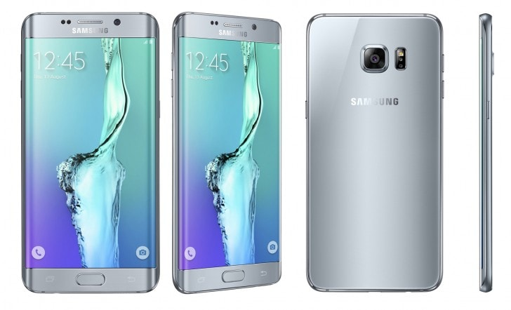 Galaxy S6 edge Plus Titanium Silver