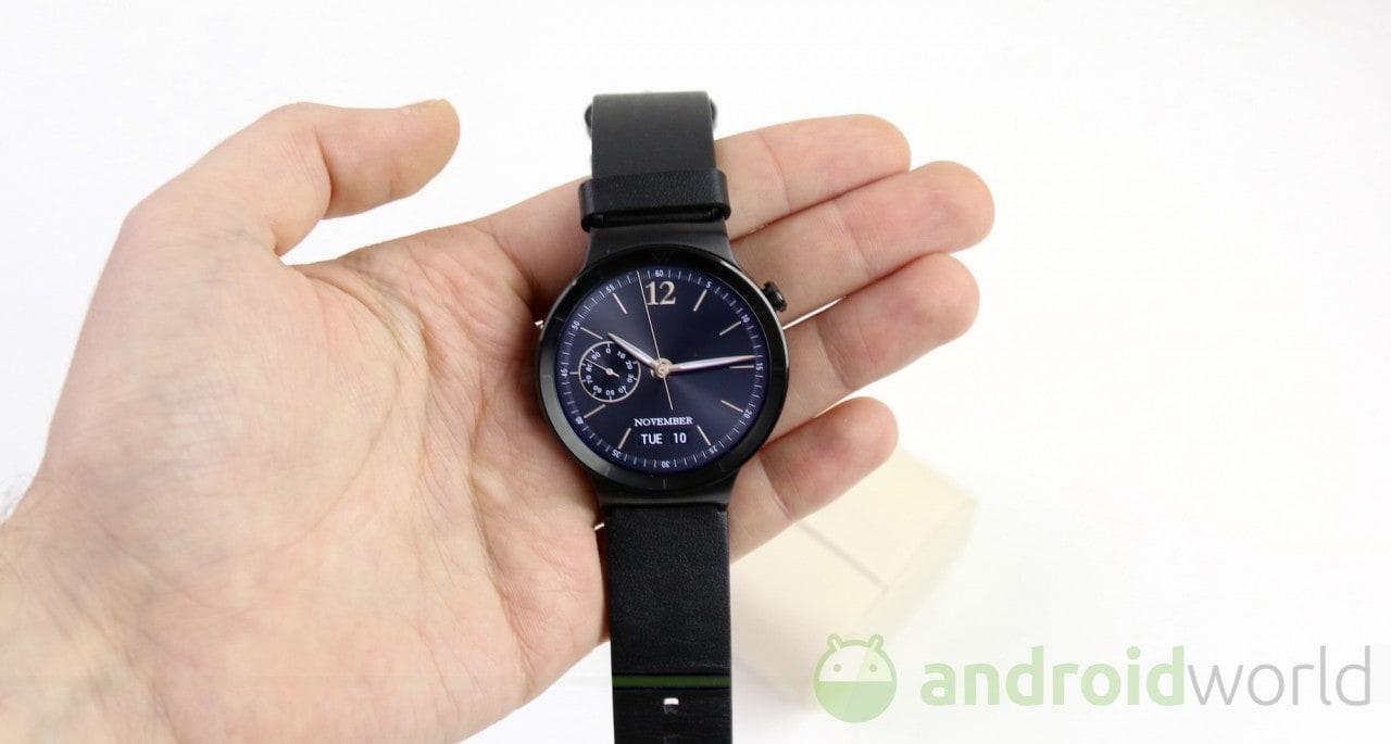 Android Wear con Marshmallow in ritardo su Huawei Watch?
