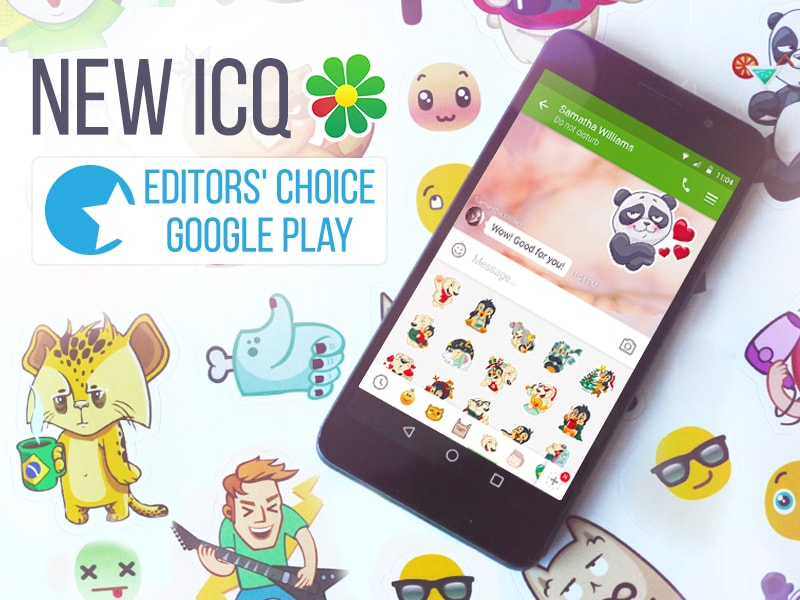 ICQ editor choice – 1