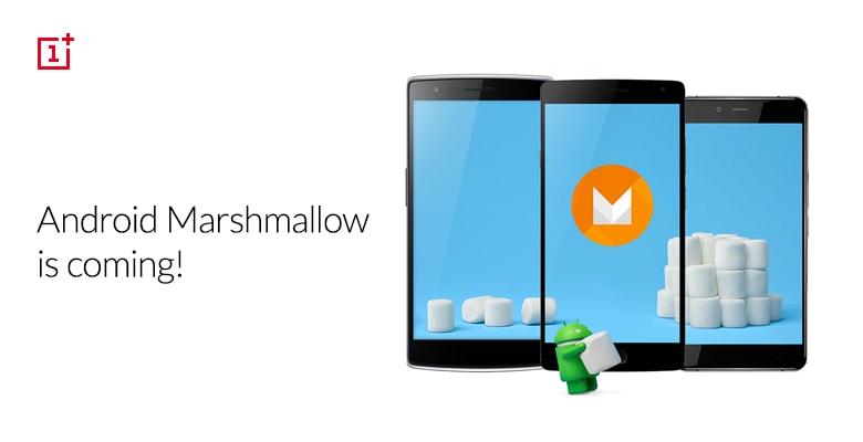 Marshmallow per OnePlus One e OnePlus 2 entro marzo 2016!