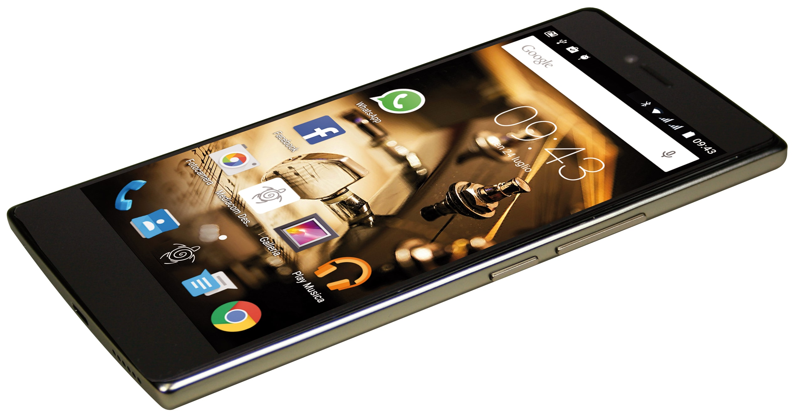 Mediacom presenta PhonePad Duo X530U 4G 2
