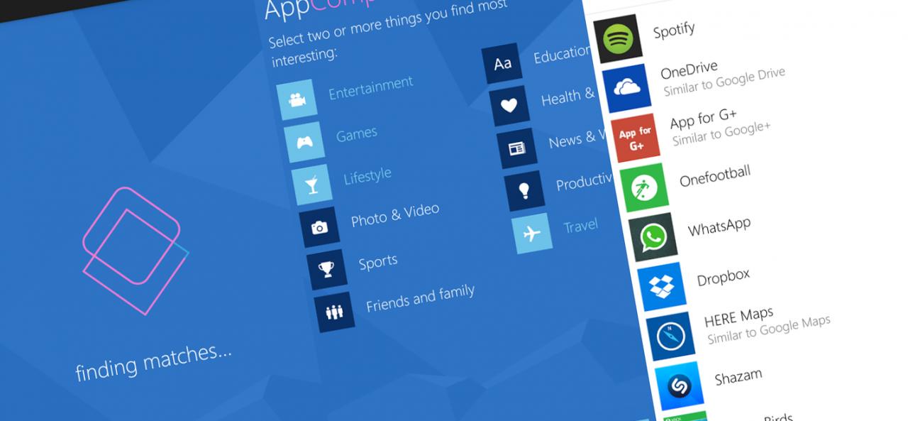 Microsoft AppComparison - logo