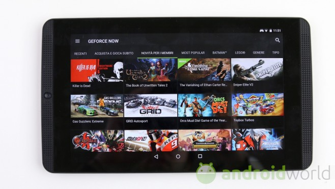 NVIDIA Shield Tablet K1 - 2