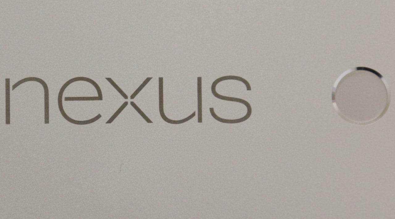 Nexus logo final lettore di impronte