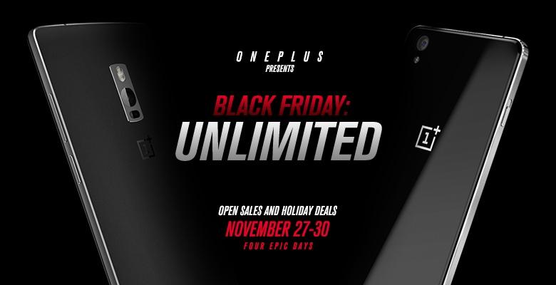 OnePlus e il Black Friday: no invito per OnePlus 2 e X, e sconti fino al 90% sugli accessori