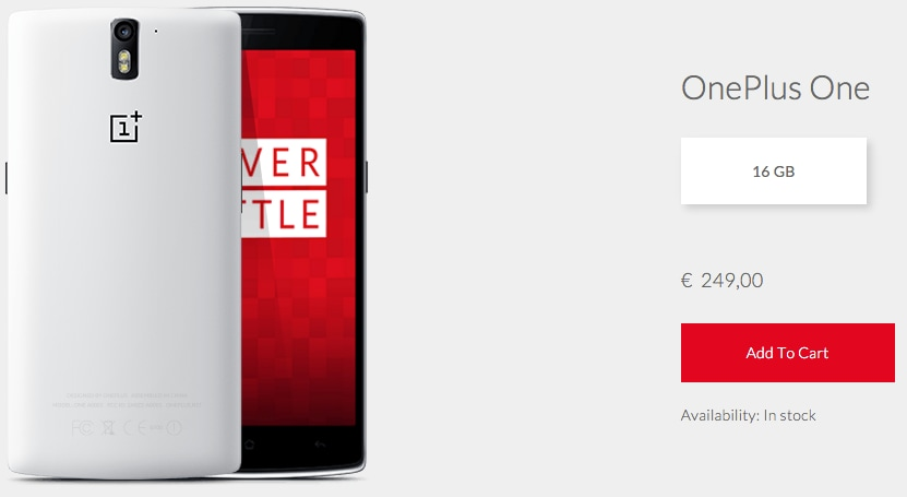 OnePlus One 16 GB