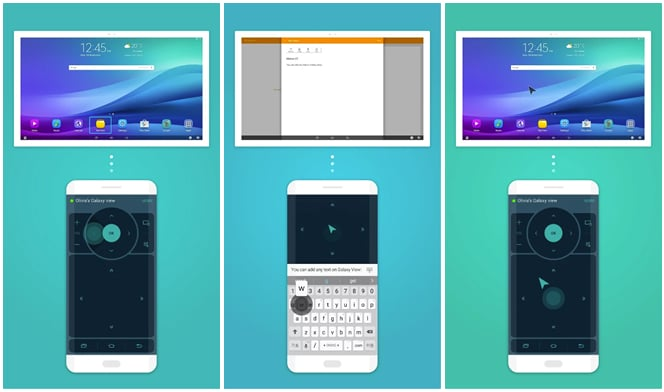 Samsung Galaxy View Remote