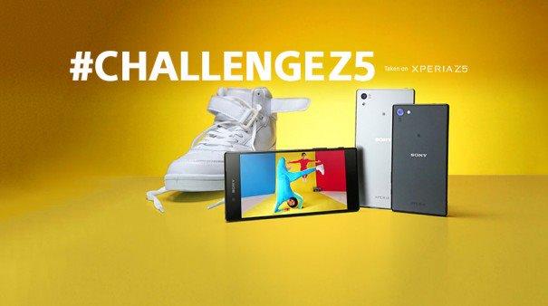 Sony #ChallengeZ5