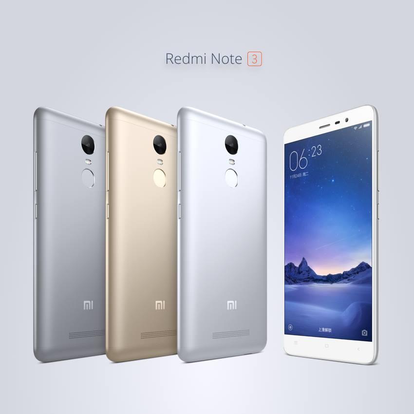 Xiaomi Redmi Note 3 – 1