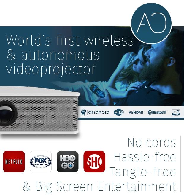 AiO HC è un proiettore wireless con Android che costa un po' troppo (video)