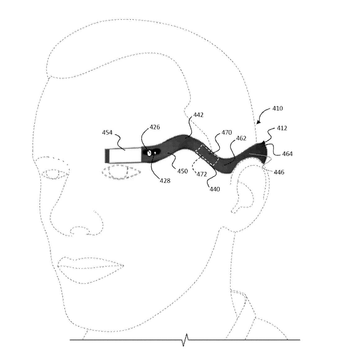 L'innovativo design dei nuovi Google Glass è nascosto in questo brevetto?