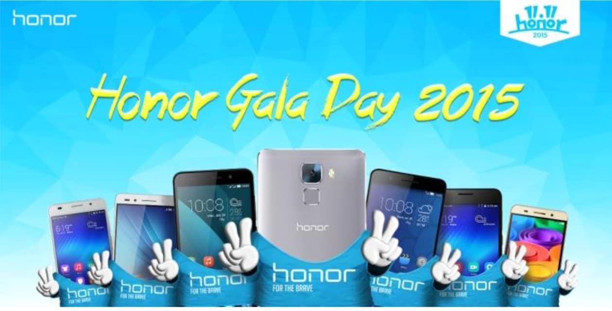 Honor Gala Day 2015: svendite in tutto il mondo il prossimo 11 novembre!