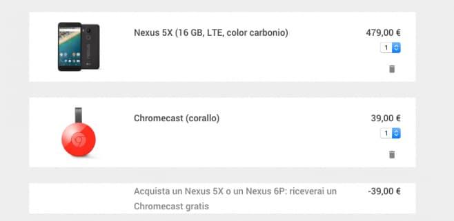 nexus + chromecast