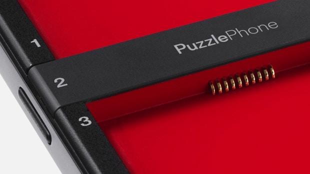 PuzzlePhone, lo smartphone un po' modulare, arriva su Indiegogo (video)