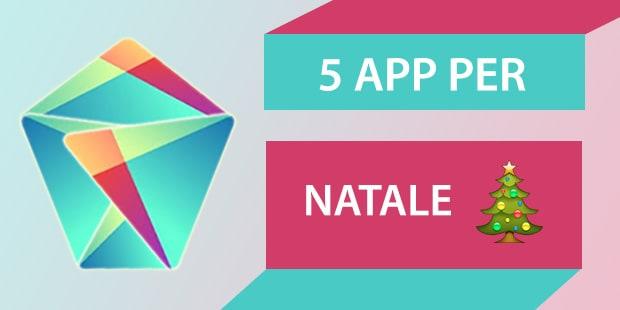5 app per natale