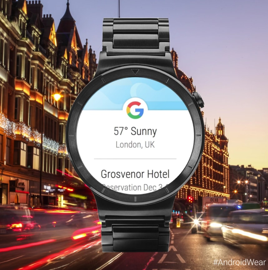 Android Wear nuovo google now