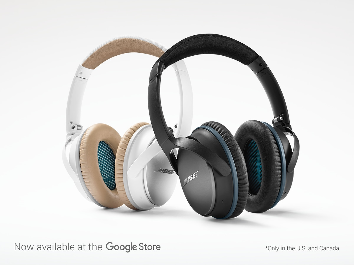 Bose Noise Cancelling Headphones Google Store