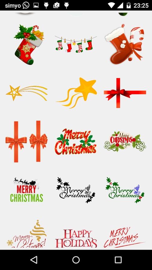 Buon Natale Photo Adesivi – 1