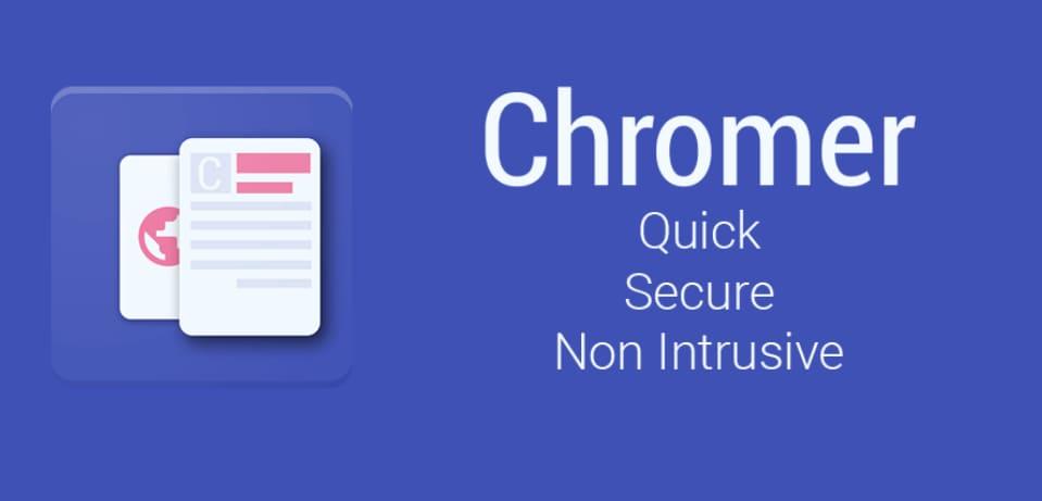 Chrome Custom Tab per ogni app, con Chromer (foto)