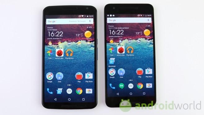 Confronto Nexus 6 - Nexus 6P - 1