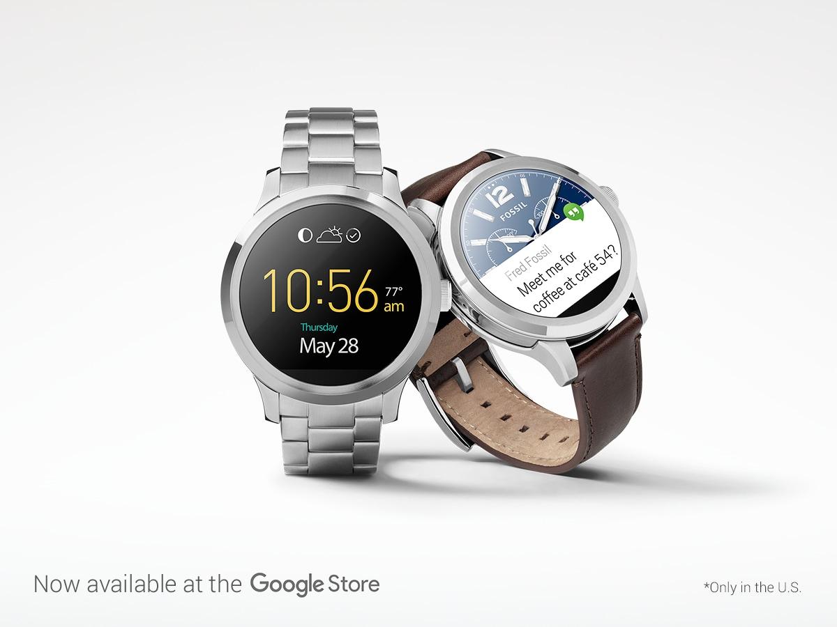 Arriva sul Google Store lo smartwatch Fossil Q Founder, snobbando l'Italia (e non solo)