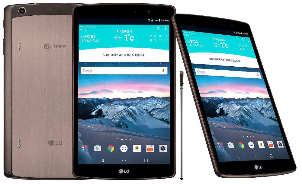 In Corea c'è un nuovo LG G Pad II 8.3 con LTE, stylus e USB full size (foto)